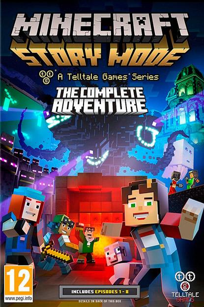 دانلود بازی نسخه فشرده Minecraft Story Mode – Complete برای PC