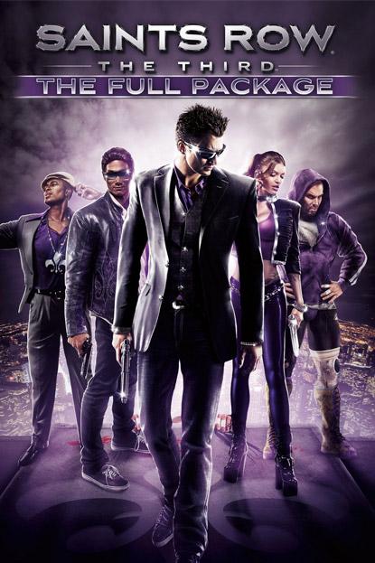 دانلود بازی نسخه فشرده Saints Row 3 The Third برای PC