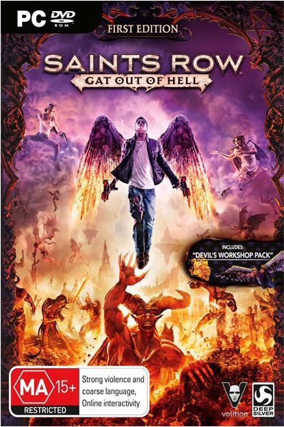 دانلود بازی نسخه فشرده Saints Row Gat out of Hell برای PC