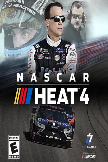 دانلود بازی نسخه فشرده NASCAR Heat 4 برای PC