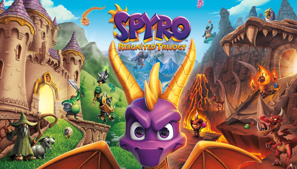 دانلود بازی نسخه فشرده Spyro Reignited Trilogy برای PC