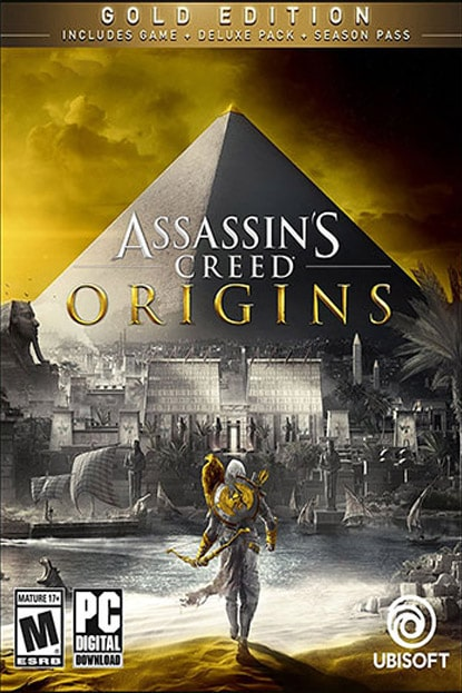دانلود بازی نسخه فشرده Assassins Creed Origins The Curse of the Pharaohs برای PC