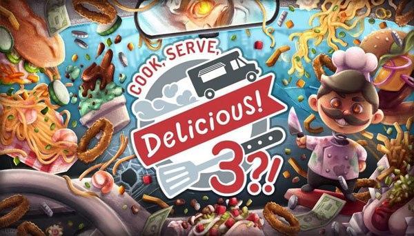 دانلود بازی نسخه فشرده Cook Serve Delicious 3 برای PC