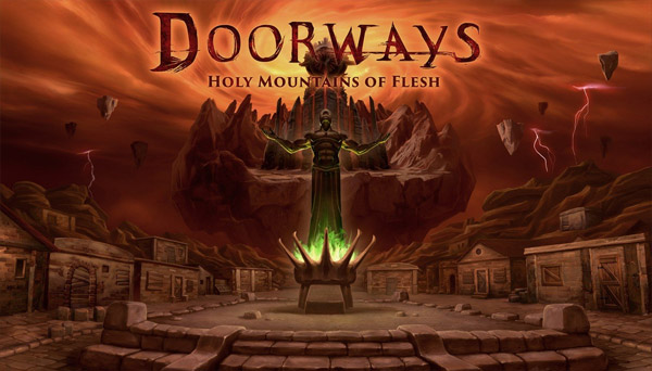 دانلود بازی نسخه فشرده Doorways Holy Mountains of Flesh برای PC