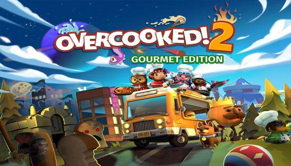 دانلود بازی نسخه فشرده Overcooked 2 Gourmet Edition برای PC