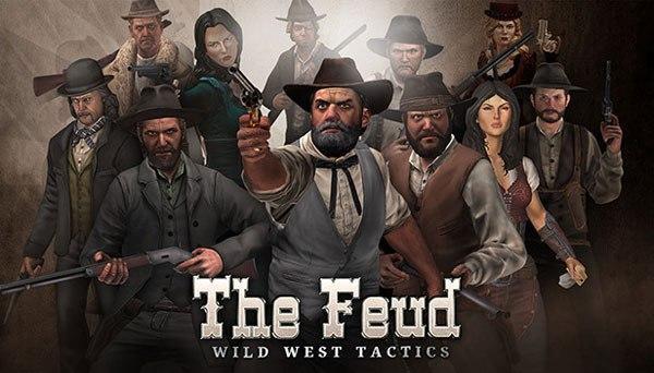 دانلود بازی نسخه فشرده The Feud Wild West Tactics برای PC